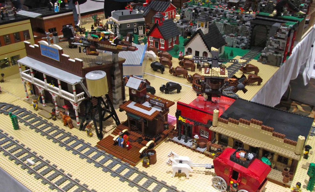 Grimy Gulch Station by Jeff Market by Lester and other buildings by Duane & Meghan